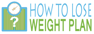 How To Lose Weight Plan Logo